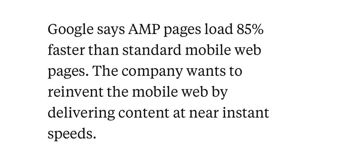 Google AMP launches Mon, 2/22, with partners that include @WSJ, @washingtonpost & @BuzzFeed https://t.co/zyNhcjhACQ https://t.co/qJDSoIpNuY