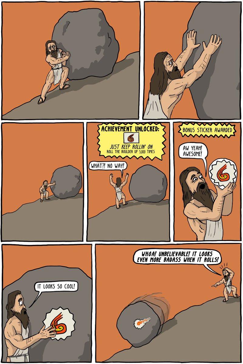 We must imagine Sisyphus happy. (https://t.co/RuEJJiEqGH) https://t.co/nfuPY4Hapi
