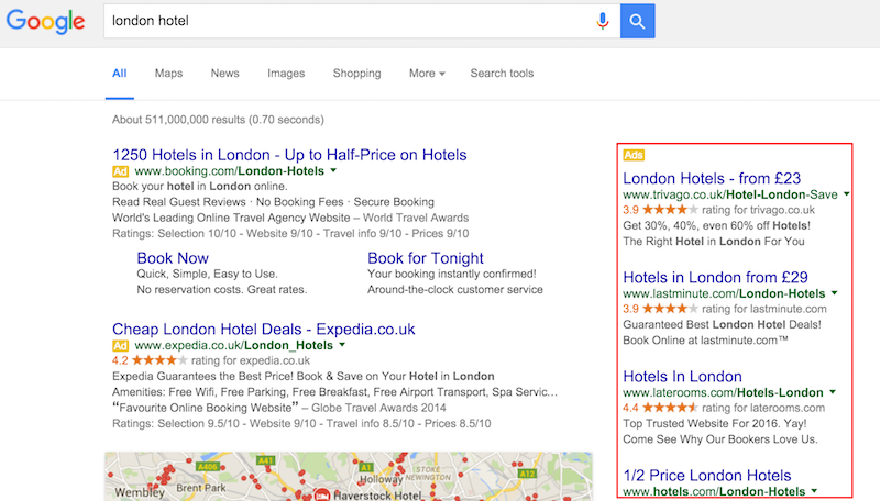 Google is removing all Right Hand Side Ads on SERPs worldwide. https://t.co/OTQAQi6M5g https://t.co/S3WDDaTinR