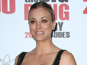 Kaley Cuoco glams up for Big Bang Theory's 200th episode party - we LOVE the dress!