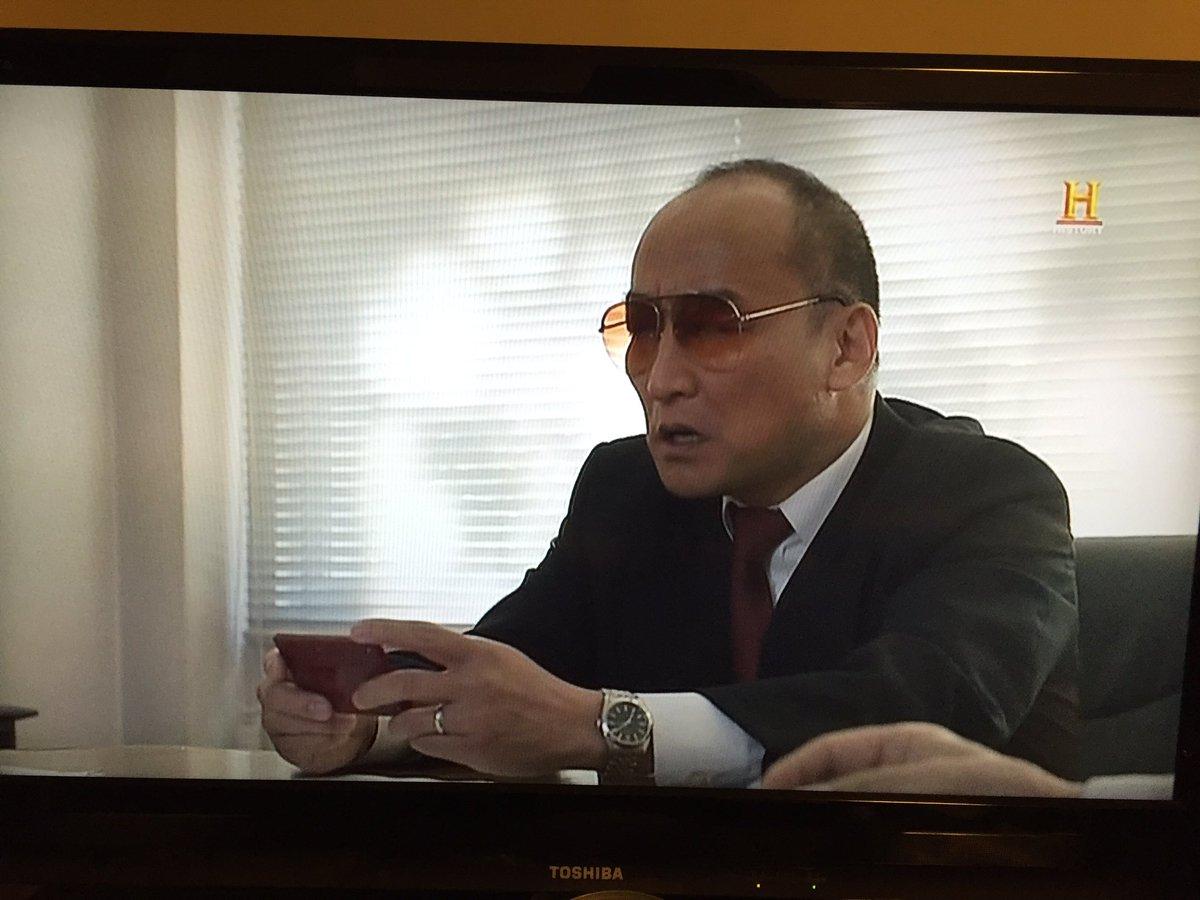 ヒストリーチャンネルの横井軍平伝録画視聴。任天堂山内社長のヤ◯ザ丸出しのキャスティングがハマりすぎて悪意を感じるww いや好きだけどw https://t.co/OIk6M5bQ3A