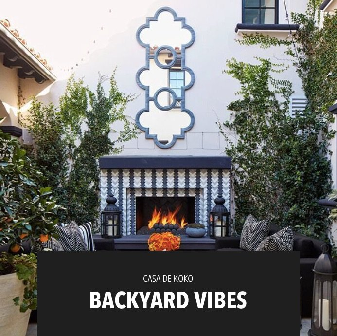 I LOVE hanging in my backyard! Shop some of my fave outdoor décor pieces on khloewithak!!! https://t.co/p6WkXMzxgh https://t.co/UTHC3nreKE