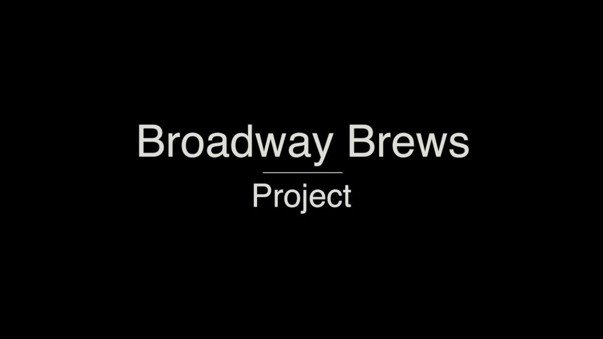 Truth: The #BroadwayBrewsProject is us brewing a #CraftBeer with @GunHillBrewery... And @HamiltonMusical. #GetReady https://t.co/yZRpsa6SAI