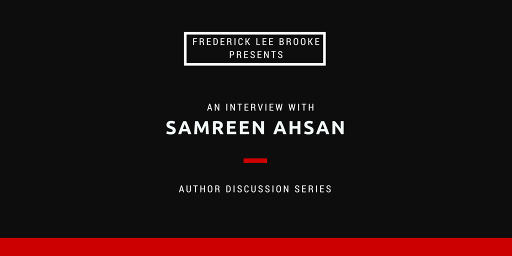 Interview with Author Samreen Ahsan #amwriting #MondayBlogs https://t.co/pbYQw1PrXg https://t.co/L45p38uGCi