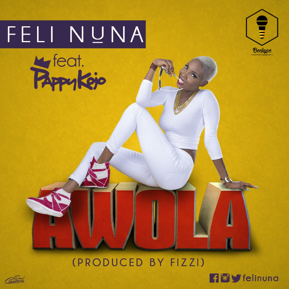 Morning!!  #AWOLA ft @pappykojo is OUT NOW!!