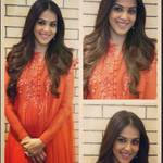 RT @DasguptaAyesha: The gorgeous @geneliad in a @mehra_ridhi outfit. MU By Bhavya. Hair by Seema, Placid Salon. #styledbyme https://t.co/vd…