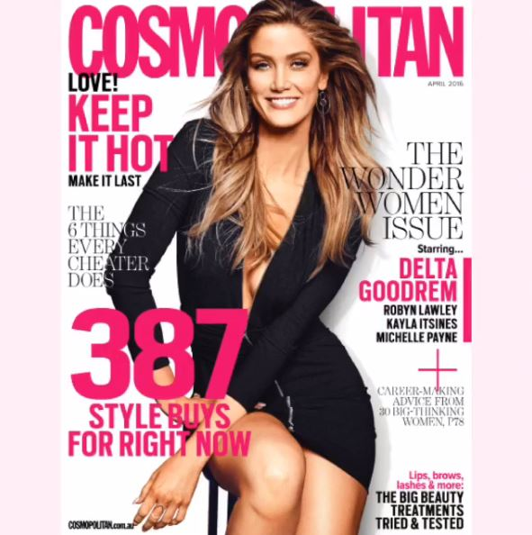 ".@DeltaGoodrem for @Cosmoaustralia - ""Be present, be you, be proud"" #InternationalWomensDay https://t.co/fVBoPIru09 https://t.co/aRUrCt2WIj"