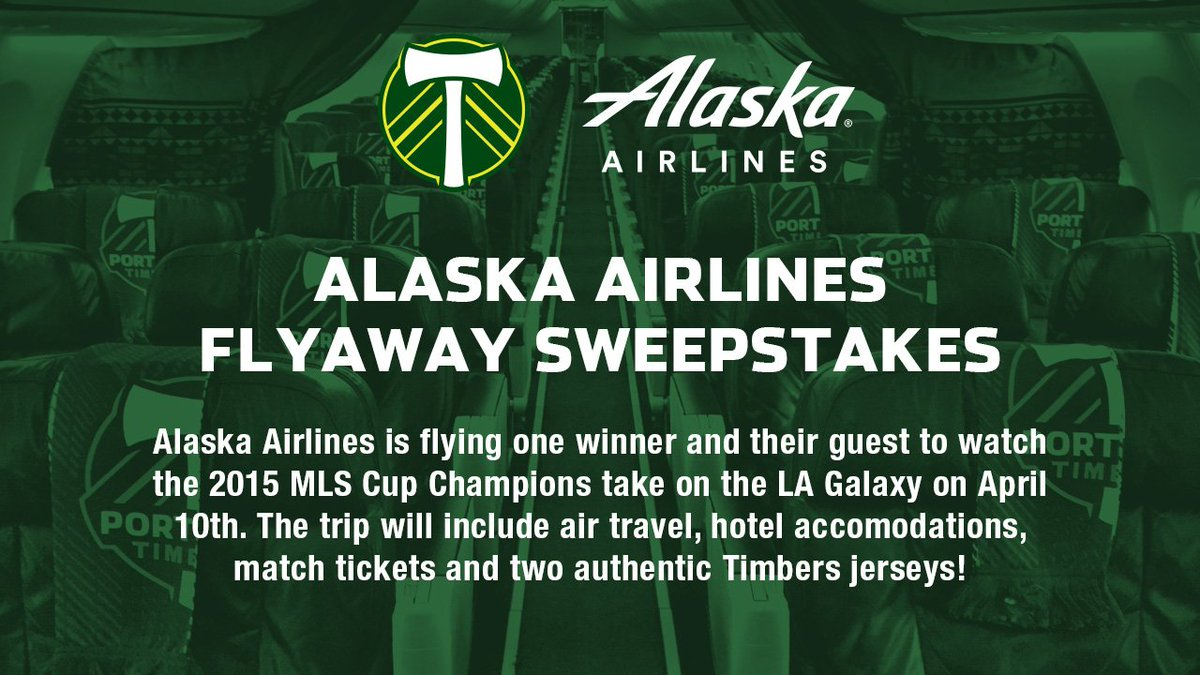 RT @TimbersFC: Fly in style to see us take on the LA Galaxy in April. @AlaskaAir Flyaway: