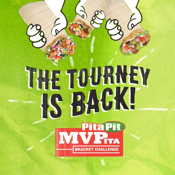 Mark your calendars for March 15th, because MVPita is back! Which pita will reign supreme? It's up to you to vote. https://t.co/4iwwOFV8xL