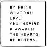 Love this #mondaymotivation to get the new week started! How will you inspire others? xoP #LoveWhatYouDo https://t.co/Jo0tiEXkju