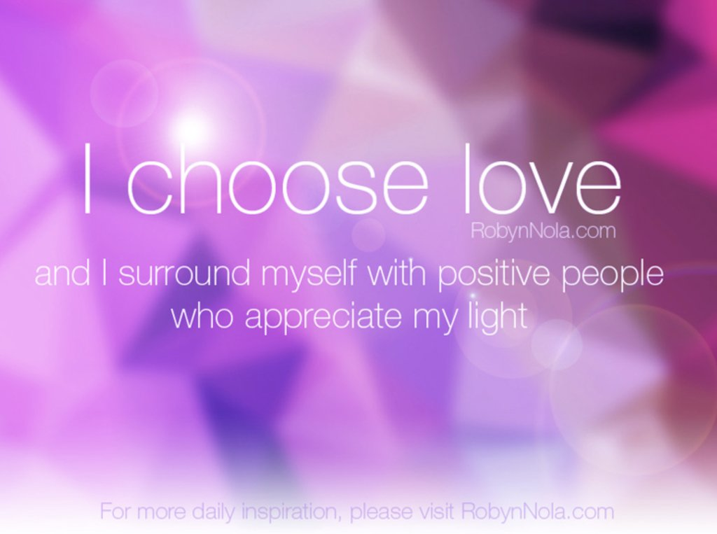 I choose love and I surround myself with positive people who appreciate my light ♥ #affirmations #mondaymotivation https://t.co/5RQzHA9Xqw