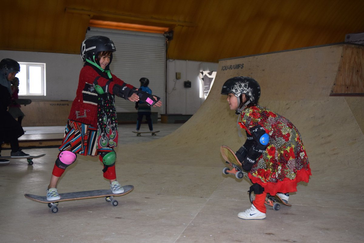 Did you know skateboarding is now the number one sport for girls in Afghanistan? Retweet to show support! #IWD2016 https://t.co/WfZybMPQ0p