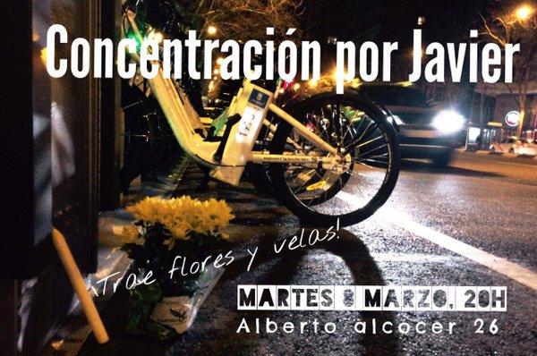Asociaciones de ciclistas urbanos de Madrid convocan un homenaje al… https://t.co/xjf1l1NwT3 #Manifestaciones https://t.co/rX7w84ykVQ