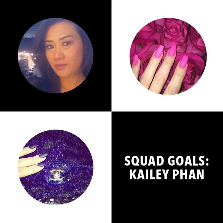 Get familiar w/ @KaileyPhan 1 of my A1 nail artists! She gives my nails life. On khloewithak https://t.co/t9g7qFQ9QN https://t.co/5mTBKV6FYl