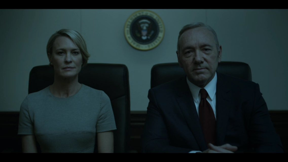 When you get to the end of Season 4 of #HouseOfCards on @netflix you'll understand why this will give you goosebumps https://t.co/a4p7FogzN2