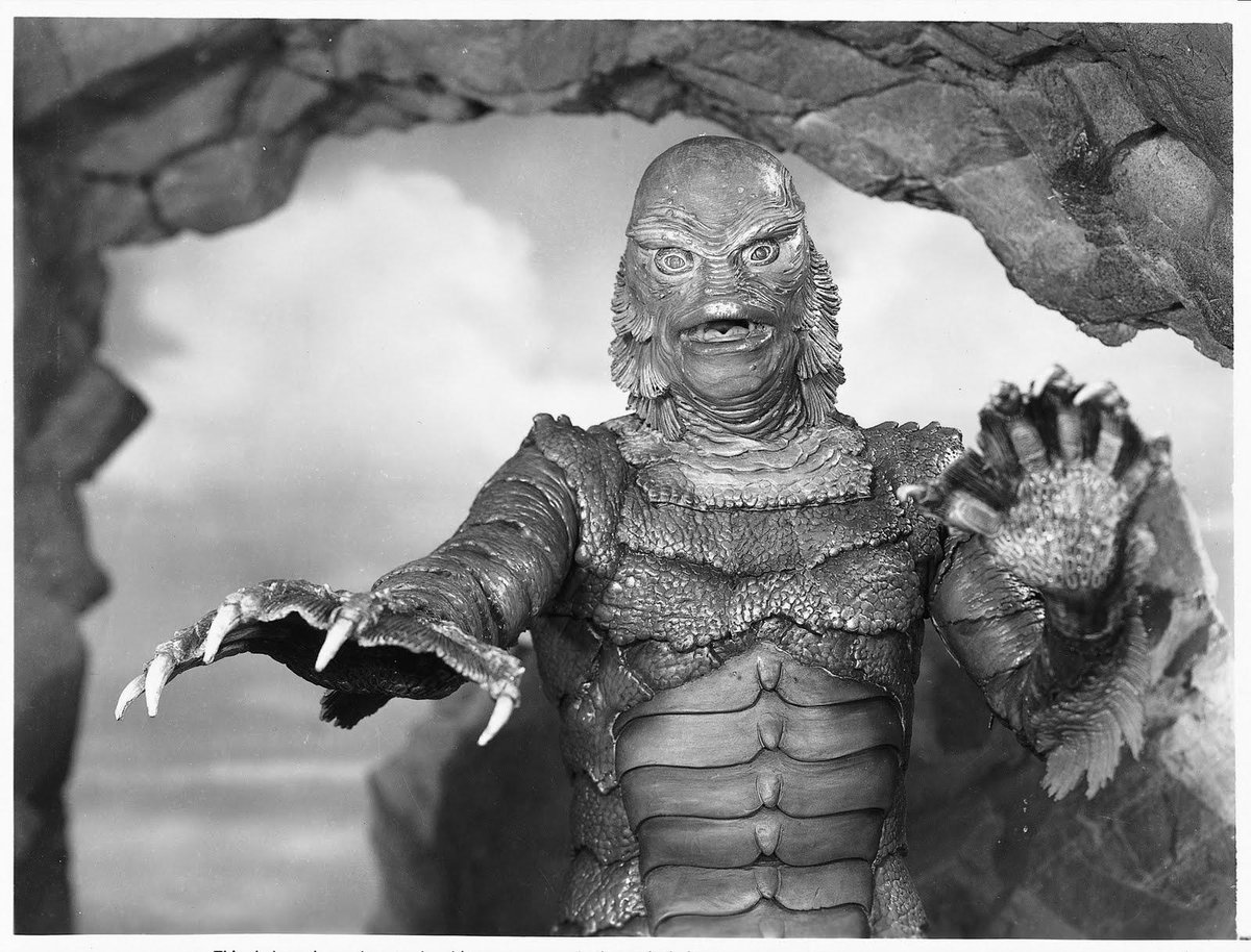 On this day in 1954 the world was introduced to Gill Man aka THE CREATURE FROM THE BLACK LAGOON https://t.co/6GznhJCJPG