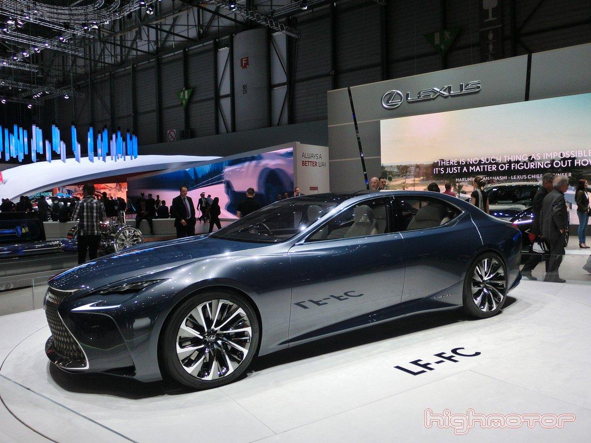 Lexus LC 500h y Lexus LF-FC, novedades en el Salón de Ginebra 2016 https://t.co/BpBLFKbHfL @LexusSpain https://t.co/bTq8gEfuyy