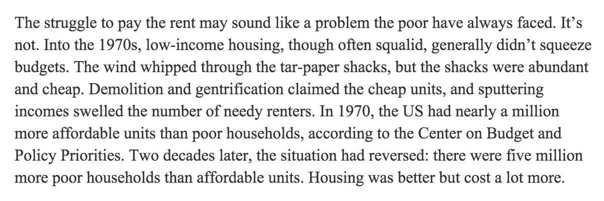 """The struggle to pay the rent may sound like a problem the poor have always faced. It's not. https://t.co/jri7NwkE5m https://t.co/bAV7izKLMk"
