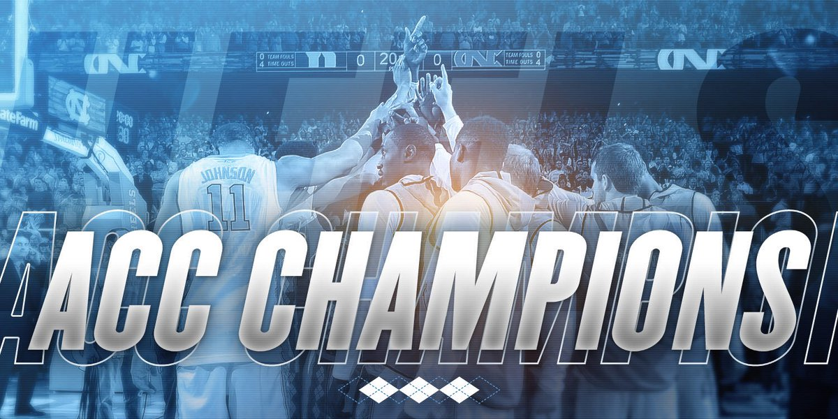 ACC Regular Season Champs! #UNCBBall https://t.co/AW4WaKX1GB