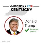 BREAKING: Trump is projected winner in Kentucky GOP caucus https://t.co/OAPH1dIb76 #Decision2016 #SuperSaturday https://t.co/vdKgVtdwUs