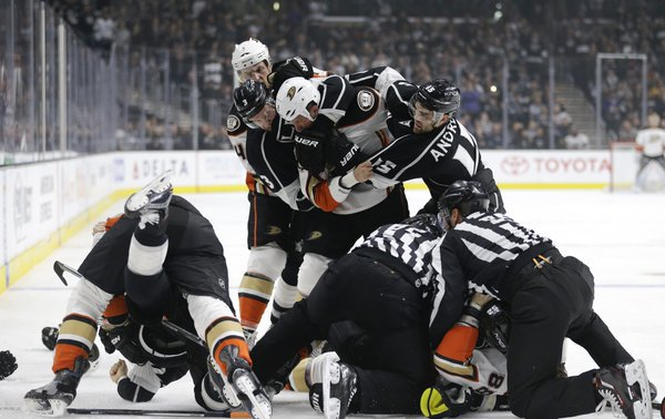 I think this was better than #UFC196 #Kings #Ducks #LineBrawl https://t.co/qjC2xAXsNM