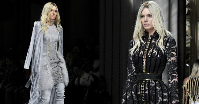 Kris Jenner had something to say about Kendall's body at Balmain's ParisFashionWeek show...