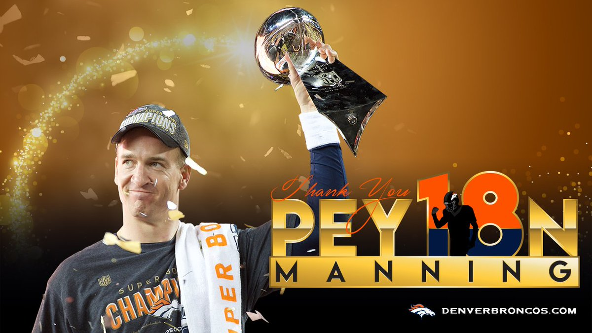 Thank you, Peyton, and congratulations on your magnificent 18-year NFL career! https://t.co/YdMt19tQ2i https://t.co/jYDXpMmlUA