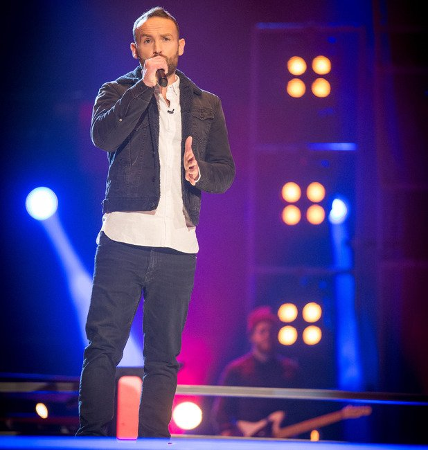 Kevin Simm favourite to win The Voice after going through to live shows