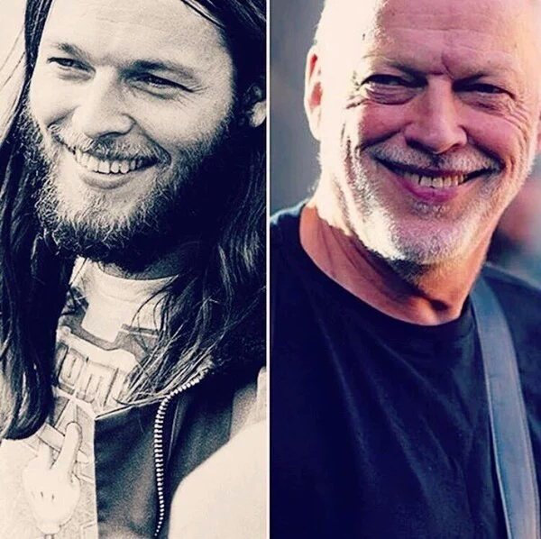 David Gilmour is 70 today...same smile and same talent! Happy Birthday! @pinkfloyd #PinkFloydGeek https://t.co/htLIp8tQGR