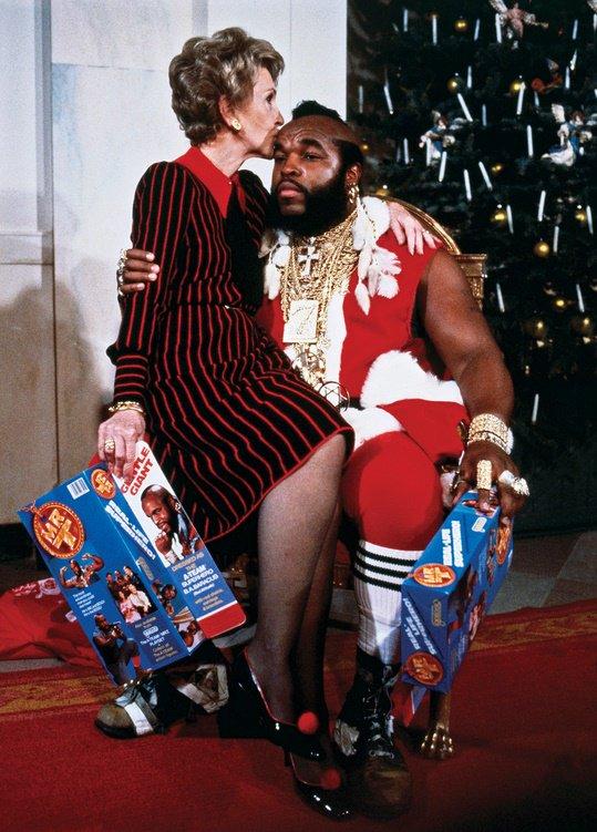 Nancy Reagan and Mr. T. https://t.co/SwjQNBbvlZ