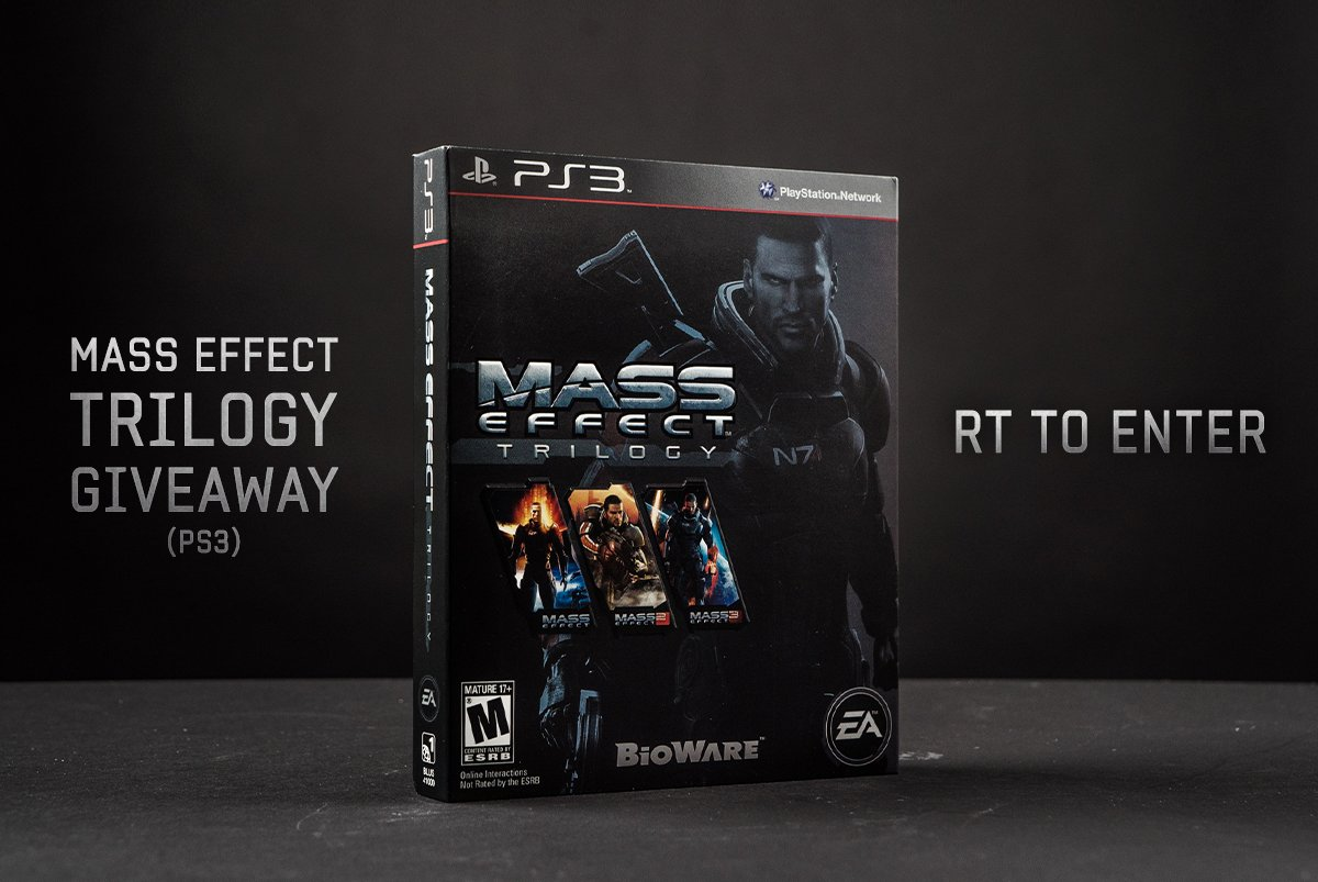 To celebrate the birthday of #MassEffect 3, we're giving away a copy of the ME trilogy for PS3. RT to enter! https://t.co/pGkZUD5A3y