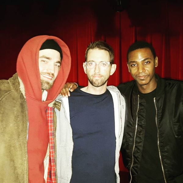NEW Picture: Robert Pattinson With @NealBrennan #3Mics (March 5, 2016) https://t.co/3LydiDUgdy https://t.co/EorzVRS864