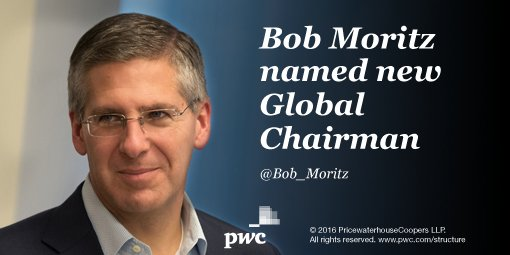 Just announced: @Bob_Moritz our new Global Chairman, effective 7/1. Congratulations, Bob! https://t.co/bD99DgPxDI https://t.co/UKWvhMYR5I