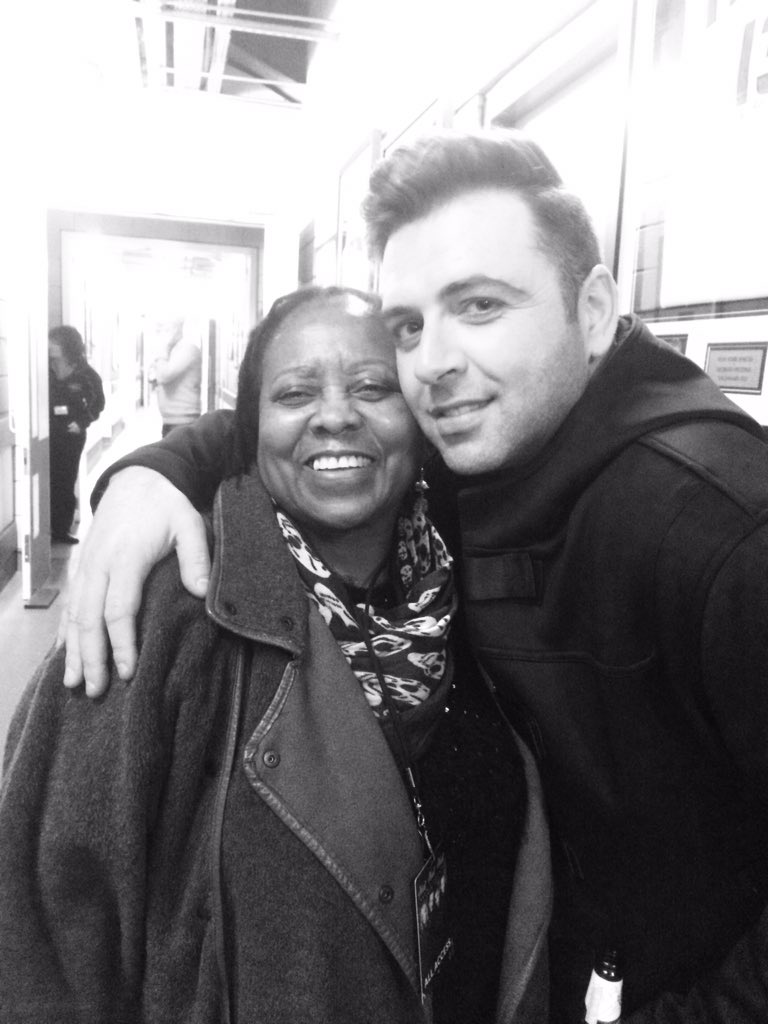 Aaaww... Look at these 2!! @MarkusFeehily & #Mama (She was smitten!)