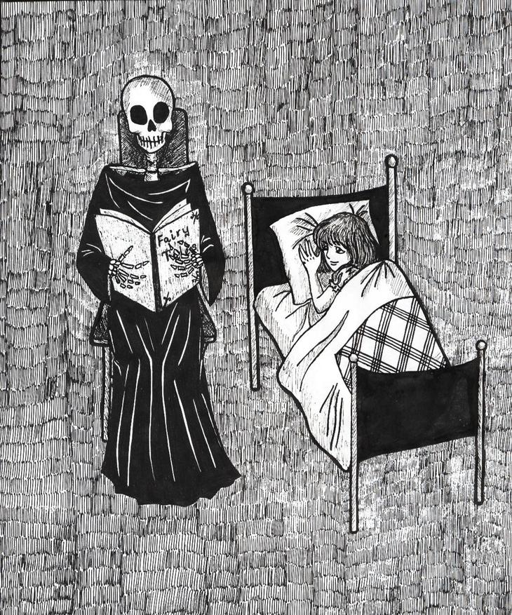 RT @hitRECord: Tap into your dark side when writing these bedtime stories -- https://t.co/S63fWPIJ0k https://t.co/uH3ponSEcD