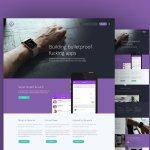 ⬇ Free download: Purple Website Template PSD https://t.co/QIwRAtHOBV https://t.co/V6WIAKo5Fq