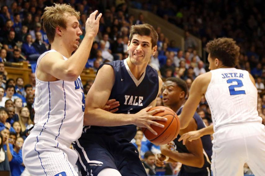 Yale's men's basketball team earns its first NCAA Tournament berth in more than 50 years