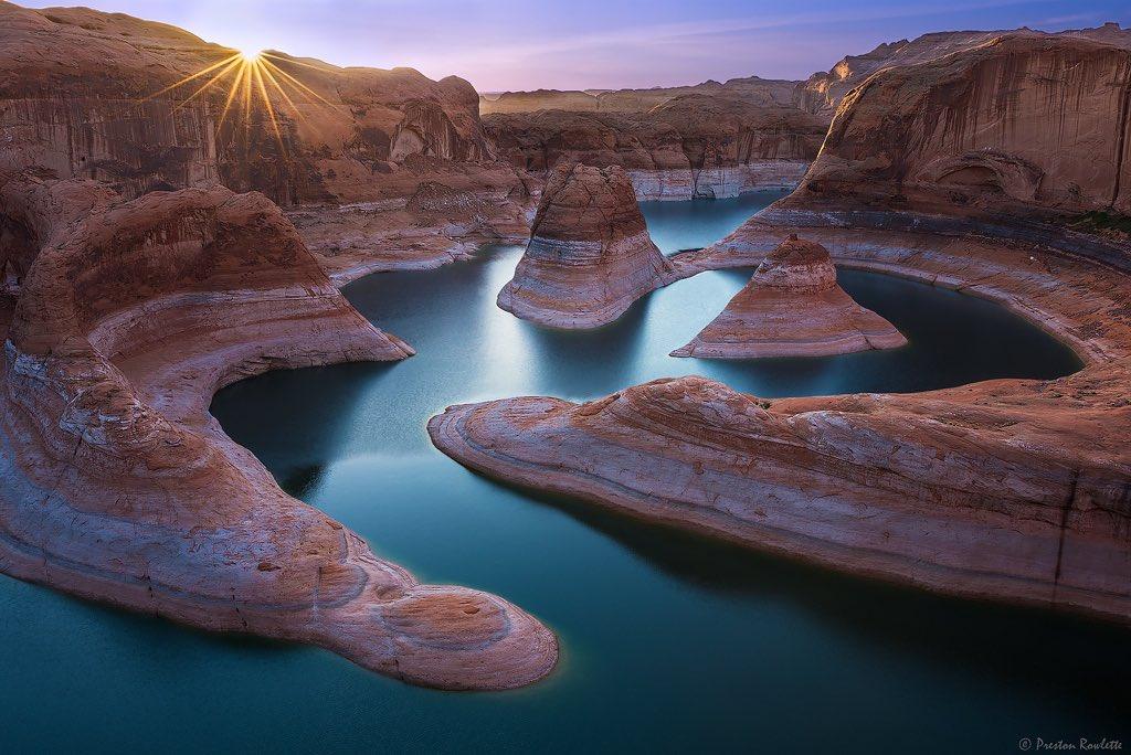 Lake Powell, #Utah, USA | Photography by ©Preston Rowlette https://t.co/ih5pOI3n5L