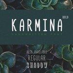 ⬇ Free download: Karmina Bold Handwritten font - @freebiesbug https://t.co/pTXVss6Bi6 https://t.co/EWGSBfqYwi