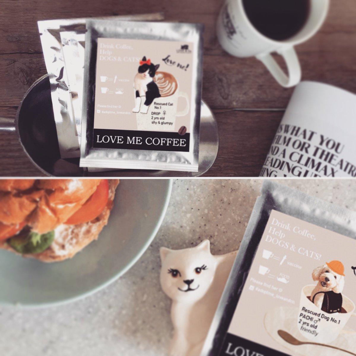 """【新着◎コーヒーを飲んでイヌネコを救おう!】 飼い主のいない """"いぬ・ねこ""""達の医療費やご飯や維持費を集めたい!動物を守る犬猫プロジェクトです♩ https://t.co/c0lAXHqurW https://t.co/8CeA1AiSra"""