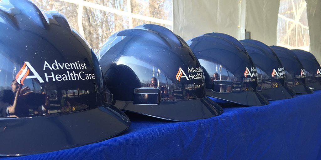 Hard hats are ready at the new Washington Adventist Hospital groundbreaking! https://t.co/lvO9iKyGO6