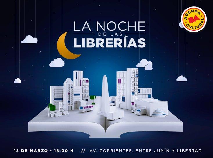 Próximo sábado 12/3... ¡Noche de las Librerías! Habrá actividades desde las 18h. Programa: https://t.co/P5Lk05EReW https://t.co/wjTIsJaqec