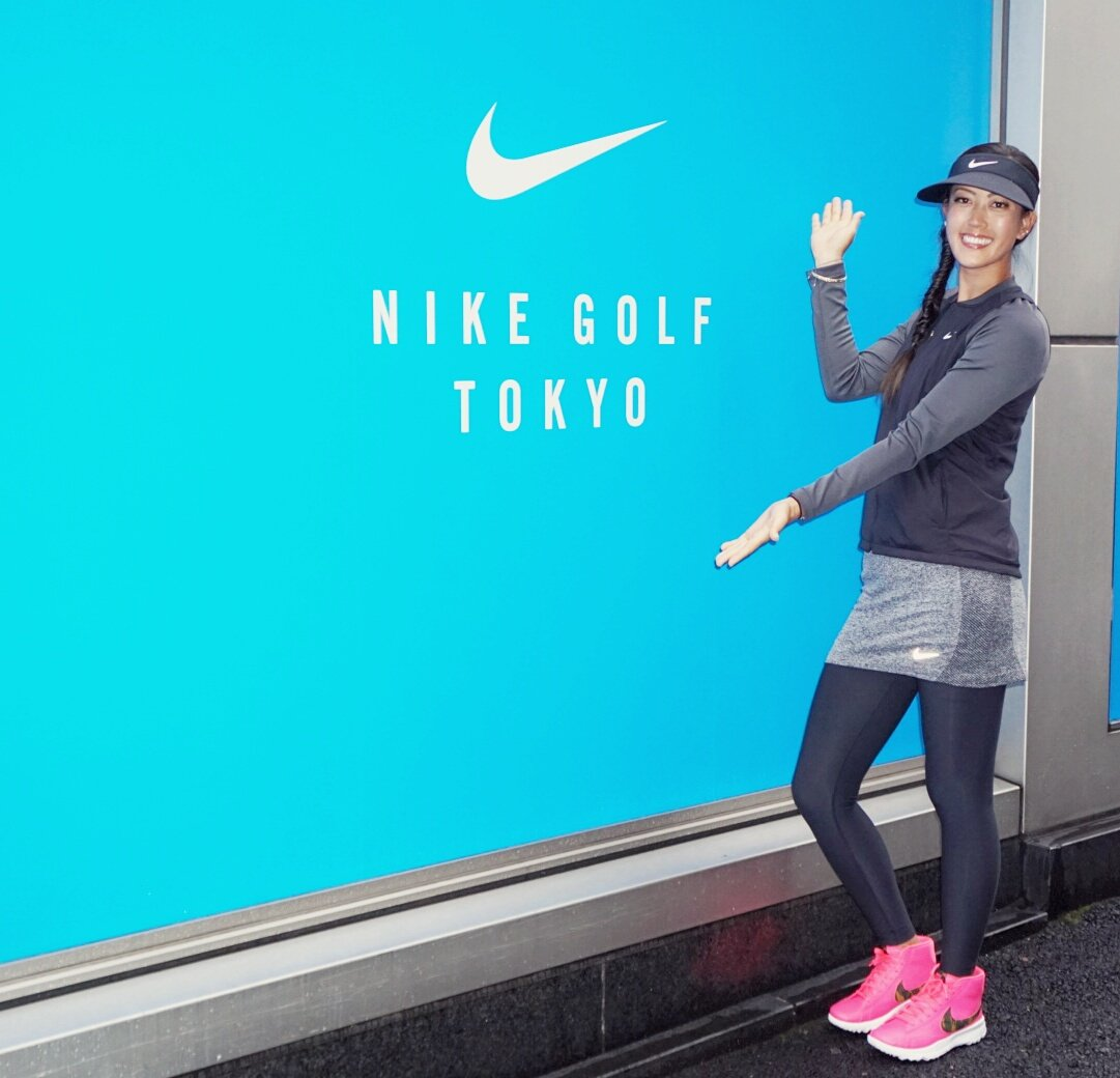 Fun day with @Nikegolf Japan opening up their pop up store in Omotesanto! Come check it out if you're in the area!! https://t.co/NniWxs9XgA
