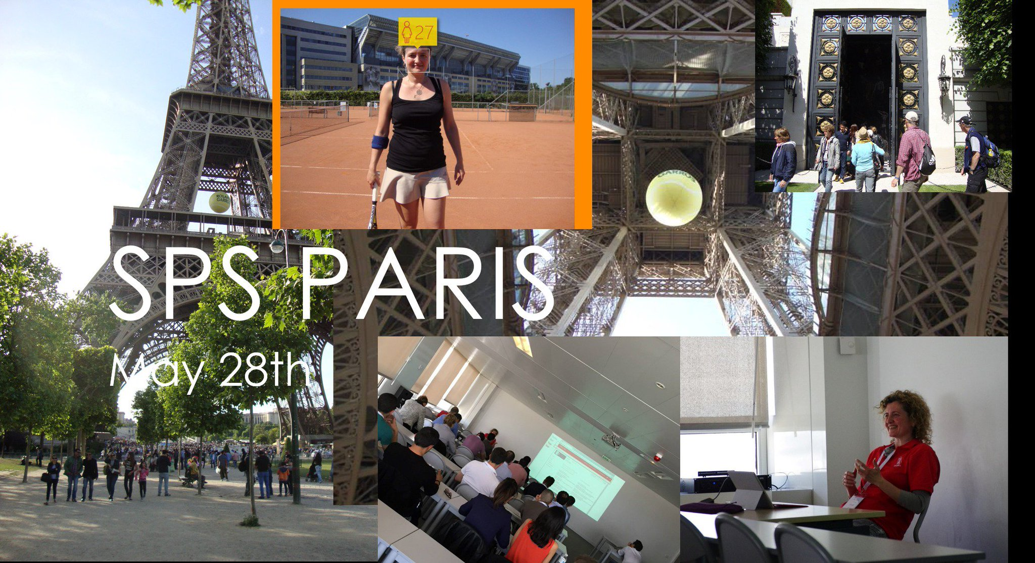 May 28th in #Paris :-) Time for #SPSParis and #rolandgarros I'm featured speaker at #SharePoint Saturday. https://t.co/QcCGmTqyV5