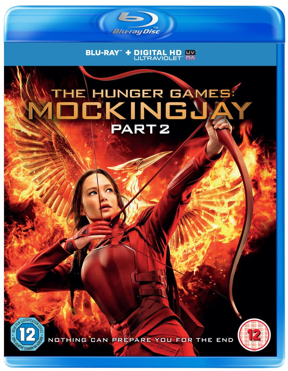 We're giving away #MockingjayPart2 on Blu-ray! For a chance to #win RT & follow. 2nd entry: https://t.co/8n687BevBw https://t.co/QZ9GfyYBxu