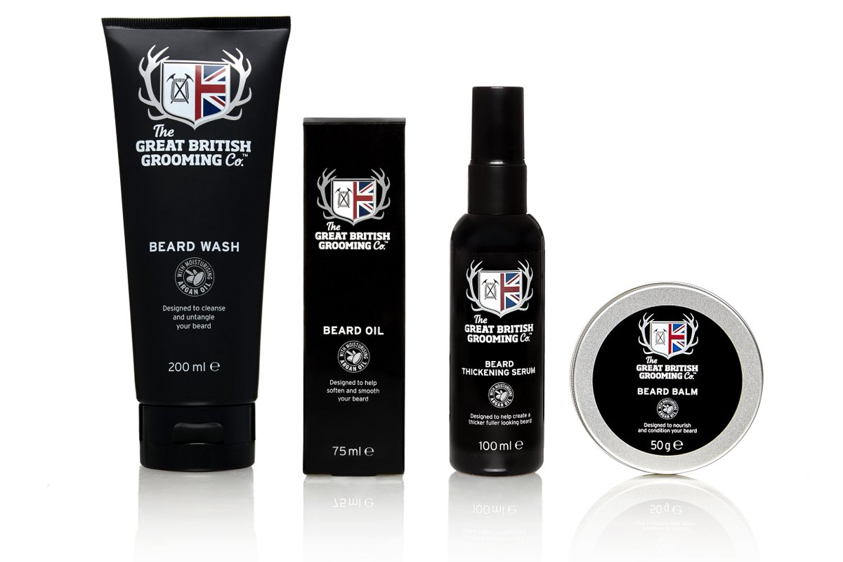 Enter now - #WIN 1 of 4 full sets of @TheGBGroomingCo Beard Products https://t.co/kHL9o5875I #Competition https://t.co/6KEHJwZM0i