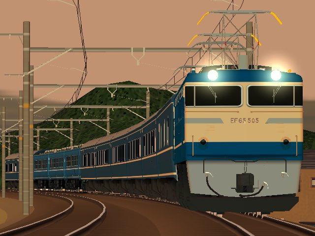 國鉄20系+12系「急行 高千穂」#RailSim  #RAILWARS
