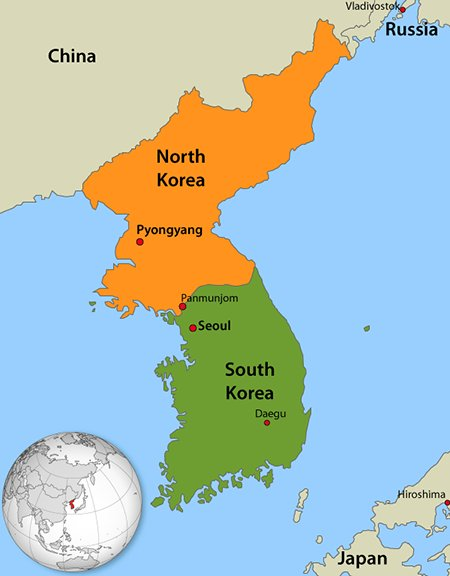 the korean peninsula that became the theater the major war