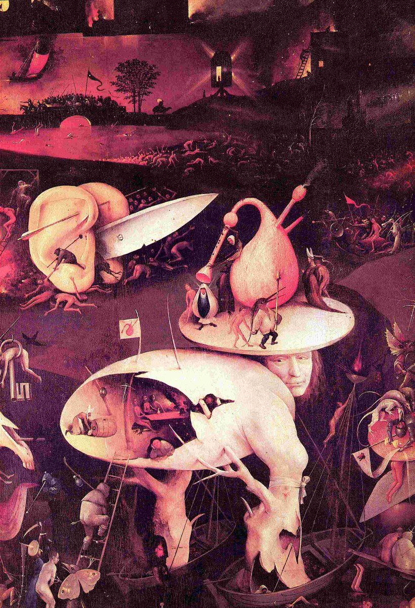 Hieronymus Bosch - Tree of Knowledge, 1500 #TipsPineappealGallery More #art https://t.co/MOWoE73oRm https://t.co/Y5SkQyCVGC
