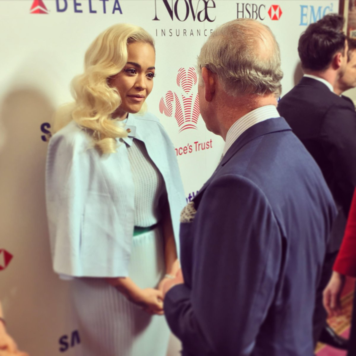 RT @ClarenceHouse: .@RitaOra wished HRH a safe trip to Kosovo when they met @princestrust's #CelebrateSuccess Awards today. https://t.co/5B…